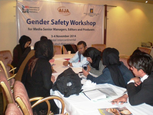 Gender Safety Workshop 2014, Afghanistan