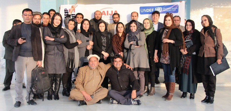 Digital Campaign Skills Workshop 2015, Afghanistan