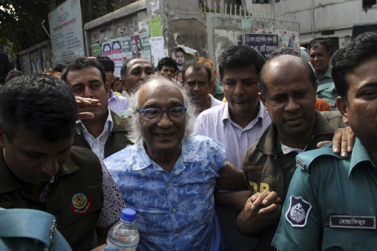 Bangladeshi journalist released on bail after four months in custody