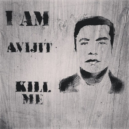 The brutal murder of Bangladeshi-American blogger Avijit Roy in February 2015 sparked the beginning of what has becoming a deadly and dangerous time for freedom of expression in Bangladesh. Following his death, protests were held across the country, as well as outside Bangladesh, with secular thinkers and bloggers using the phrase 'I am Avijit' to stand in solidarity with him.