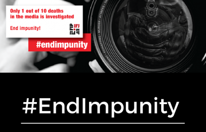 IFJ End Impunity Campaign, 2016