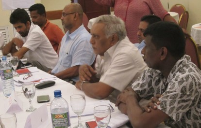 FMM Strategic & Campaign Planning Workshop, Septmber 2016, Sri Lanka