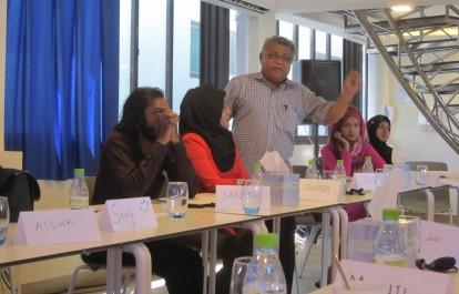Media Rights Monitoring & Advocacy Training, September 2016, Maldives