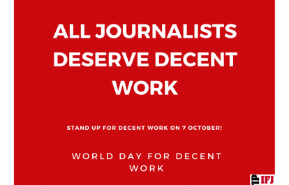 World Day for Decent Work #WDDW