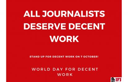 World Day for Decent Work #WDDW