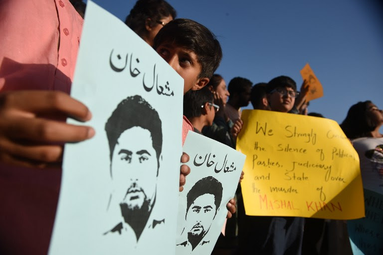 Journalism student lynched in Pakistan for alleged blasphemy