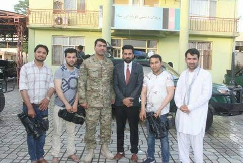 Afghan provincial governor cuts off interview and detains TV journalists