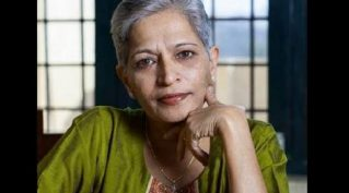 A rainsong for you Gauri Lankesh