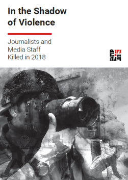 Under the shadow of violence: IFJ Killed List Report 2018