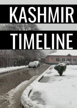 Kashmir Communications Shutdown Timeline
