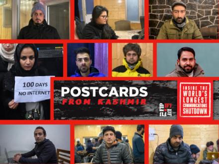 IFJ-SAMSN Kashmir Campaign 2020
